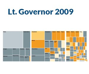 Voter Turnout: 2009 Lt. Governor's Race