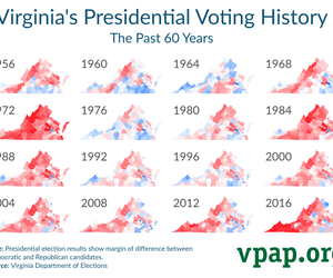 Virginia's Presidential Voting History