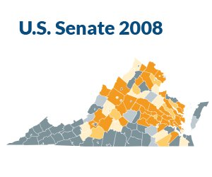 Voter Turnout: 2008 US Senate Race