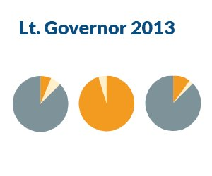 Voter Turnout: 2013 Lt. Governor's Race