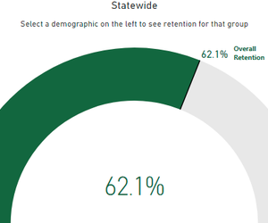 How do Age, Education, Income, and Race Affect Voter Retention?