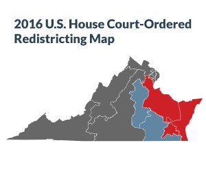 2016 U.S. House Redistricting Map