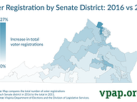 Senate District Voter Registration Trends