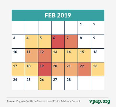 feb event calendar